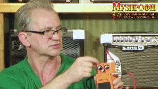 Игорь Кущев Обзор гитарных педалей-эффектов BOSS
