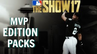 MLB The Show 17 - MVP Edition Packs Opening (was it worth the extra $?)