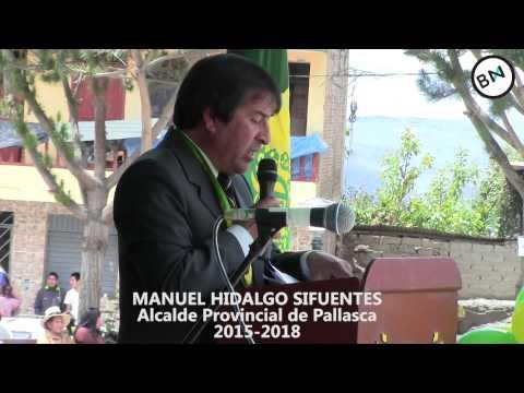 Manuel Hidalgo anuncia obras 2015