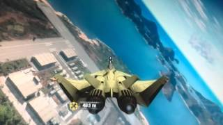 Un fel de zbor cu parapanta in just cause 2