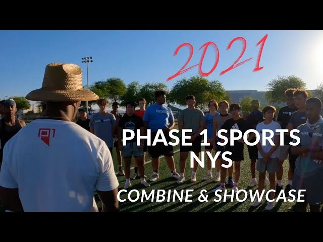 2021 Phase 1 Sports NYS Youth Football Combine and Showcase