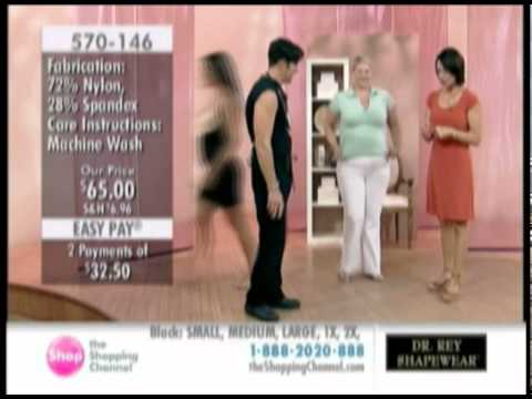 d4940fc978 The Shopping Channel - Dr. Rey Shapewear All-in-One Body Suit - YouTube