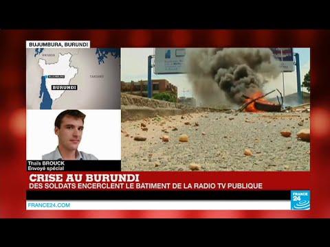 Burundi : Tirs entre policiers et militaires, les soldats encerclent la radio d'Etat