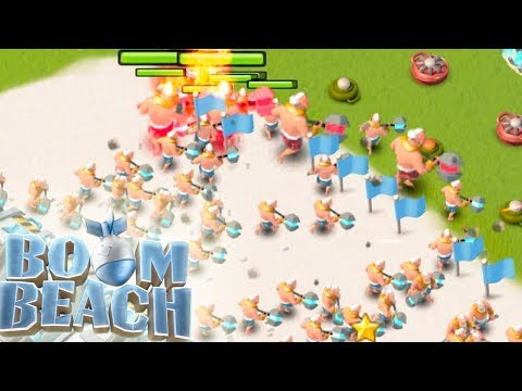 Boom Beach SUPER WARRIORS Gunboat Ability plus Warriors!