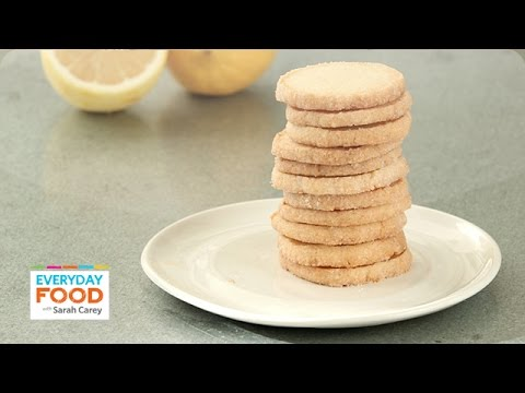 Lemon Ice Box Cookies - Everyday Food with Sarah Carey