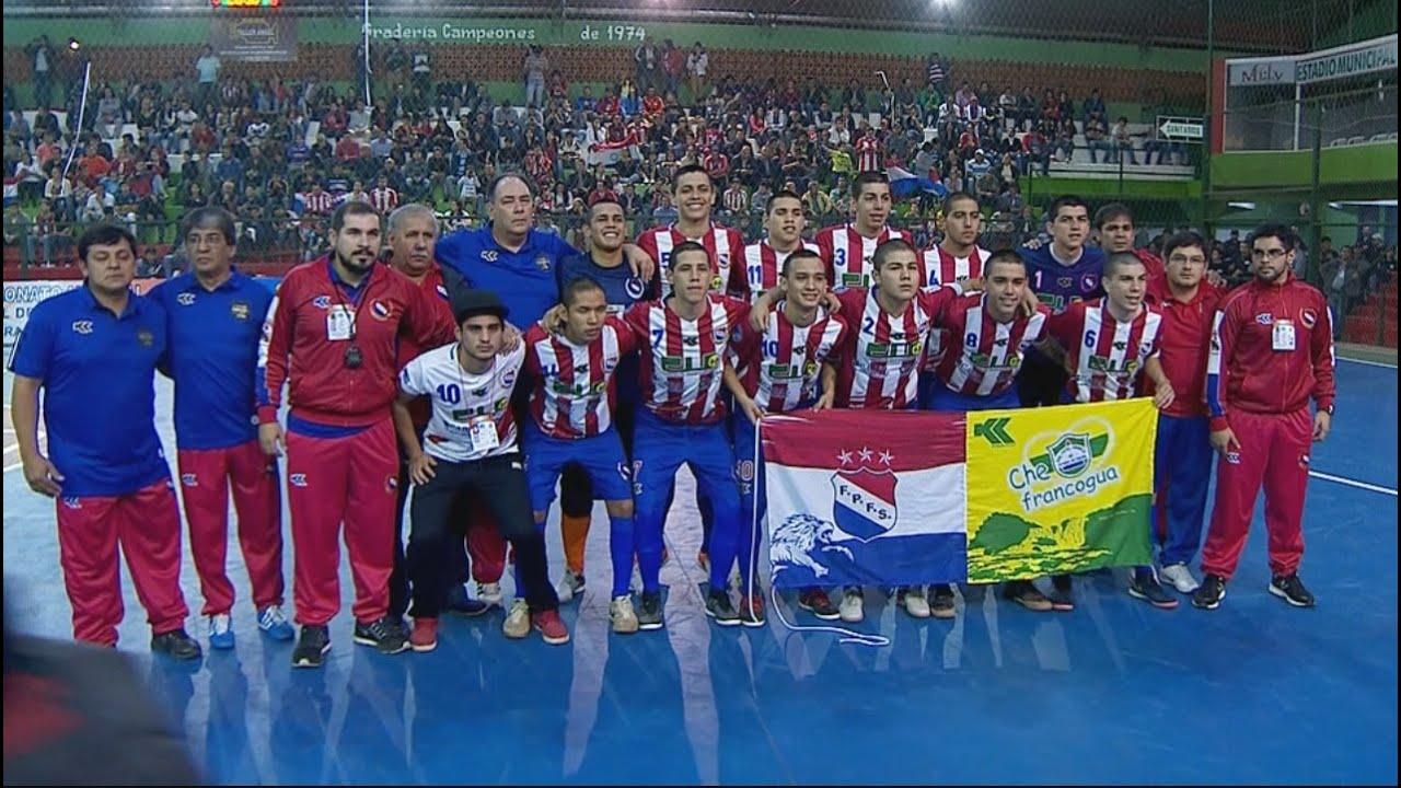 Mundial f tbol de sal n sub 17 paraguay vs colombia youtube for V encarnacion salon