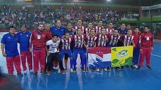MUNDIAL FÚTBOL DE SALÓN SUB 17 PARAGUAY VS. COLOMBIA
