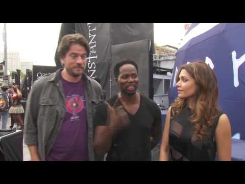 Constantine: Charles Halford, Harold Perrineau & Angelica Celaya Comic Con TV
