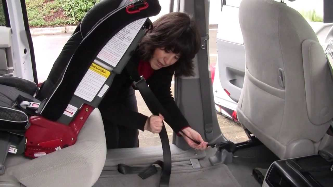 Using Top Tether With A Rear Facing Diono Car Seat Youtube