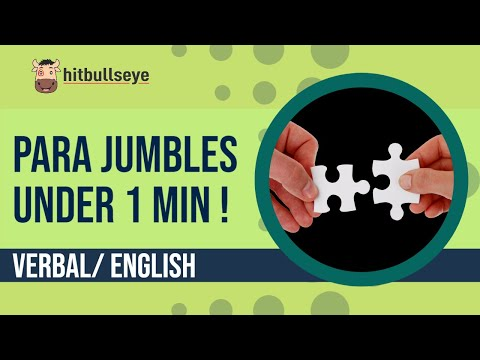 Para Jumbles- Under One Minute