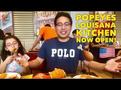 Now Open: Popeyes Louisiana Kitchen   Best Cajun Fried Chicken   Arcovia City Manila Philippines