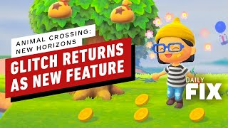 Animal Crossing: New Horizon Brings Back Fan Favorite Glitch as a Feature - IGN Daily Fix
