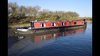 FOR SALE - Dragonfly, 57' Cruiser stern 2006 Dragon narrowboats
