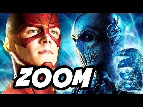 The Flash Season 2 Zoom Hunter Zolomon vs Comic Book Zoom