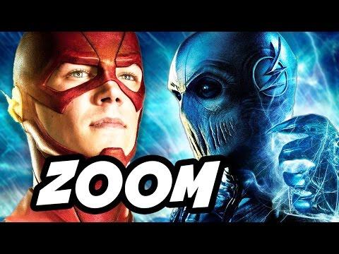 The Flash Season 2 Zoom Hunter Zolomon vs Comic Book Zoom
