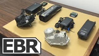 Bosch vs. Yamaha Electric Bike Motors and Drive System - Weight, Power, Ride Test