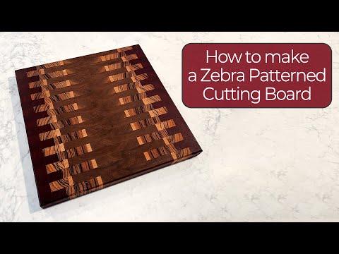 Zipper Cutting Board / Woodworking | 38