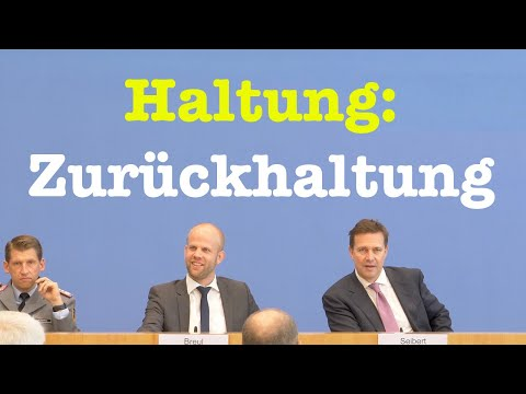 28. Oktober 2019 - Bundespressekonferenz | RegPK