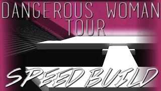Ariana Grande's Dangerous Woman Tour Stage - ROBLOX Speed Build