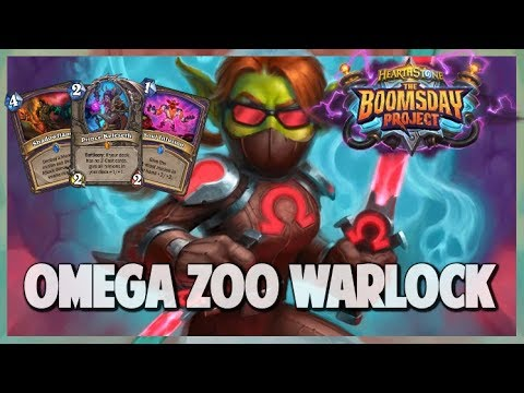 Omega Zoo Warlock | Surviving Standard 124 | Hearthstone | Boomsday Project