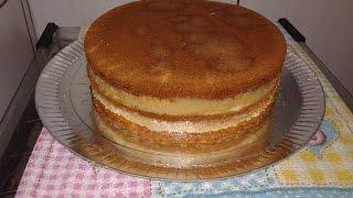 Como rechear e montar o bolo