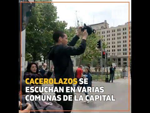 """""""Cacerolazos"""" se escuchan"""