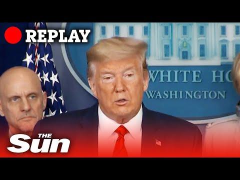 President Trump on new medical measures to overcome coronavirus - REPLAY