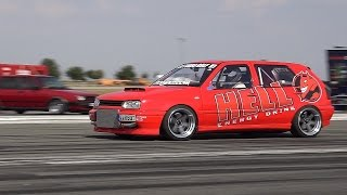 VW GOLF VR6 HELL TURBO EXTREME FAST ACCELERATION