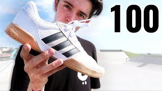 100 Kickflips In The Adidas City Cup!