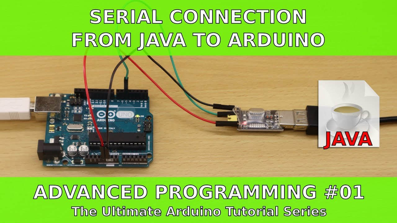 Tutorial: Serial Connection between Java Application and