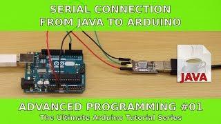 Seriële Verbinding van Java naar Arduino | UATS Geavanceerde Programmeer #01