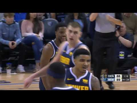 Highlights: Denver Nuggets' Epic19 point 4th quarter road comeback at Mempshis Grizzlies 01 28 2019