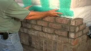 Brick Masonry Techniques for Builders - Mortar Netting Devices