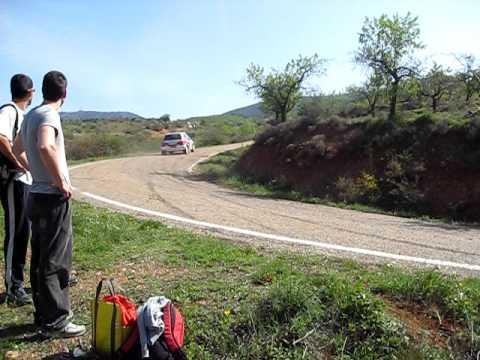 rallysprint aguaron 2010 jonatan herta y rebeca oc...