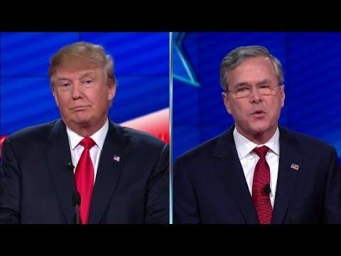 Highlights from the Trump/Bush splitscreen Mp3
