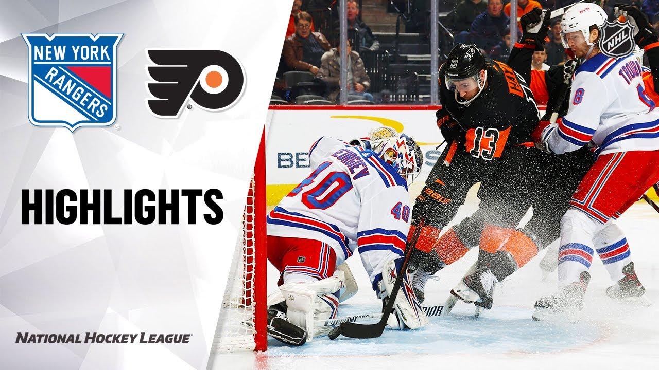 NHL: Ten things from Philadelphia Flyers 5, New York Rangers 3.