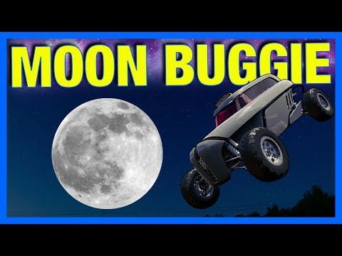 Forza Horizon 3 : DRIVING ON THE MOON!! **broke the game**