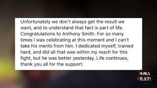 Shogun Rua releases statement following KO loss to Anthony Smith at UFC Fight Night Hamburg