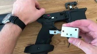 Uhl Match Abzug / Trigger einbau in HK MR223 oder AR15