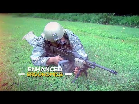 Textron Systems - LSAT Lightweight Cased Telescoped Machine Guns [720p]