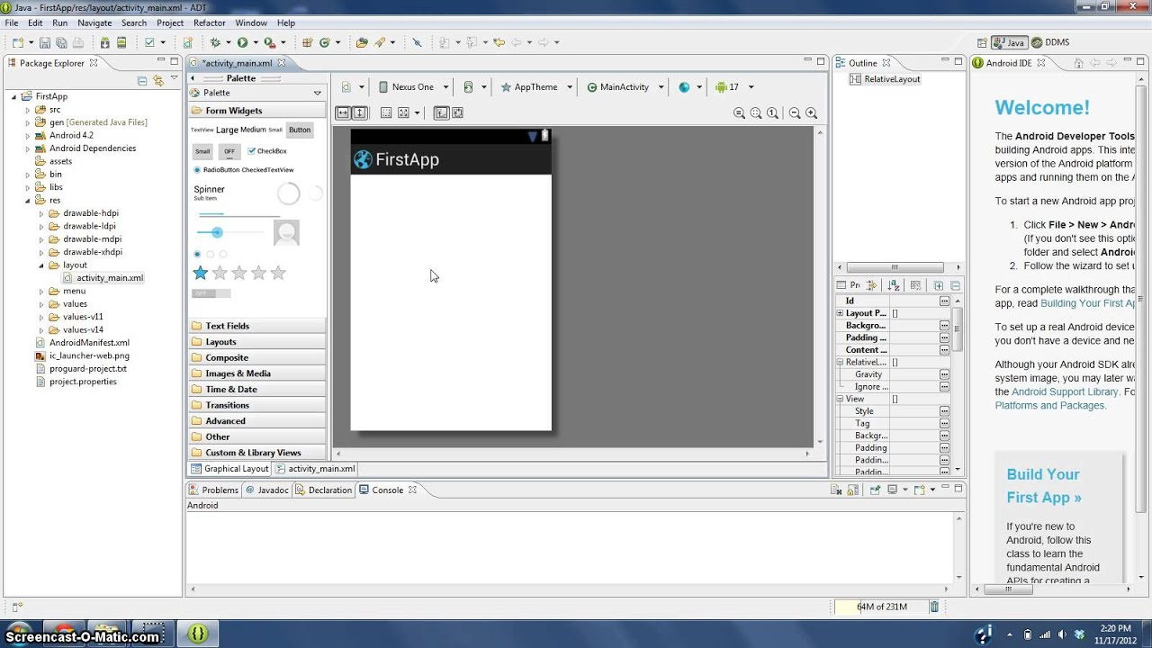 how to make an android app no programming skills needed pt