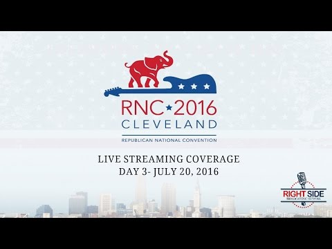 FULL REPLAY: Day 3 of Republican National Convention in Cleveland - July 20, 2016