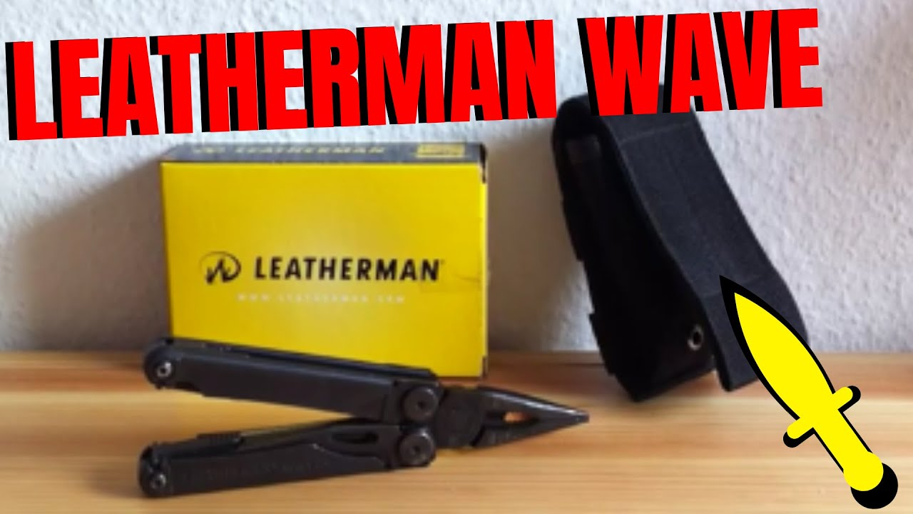Leatherman Wave Messer Tool Multitool Review Test Deutsch