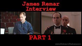 James Remar Interview Part 1 on www.HikariTakano.co