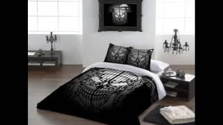 Contoh Cat  kamar warna hitam putih