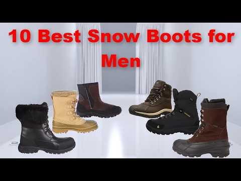 10 Best Snow Boots For Men | Best Snow Boots For Men 2017