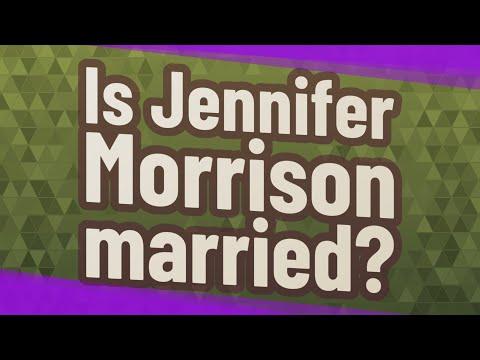 Is Jennifer Morrison Married?