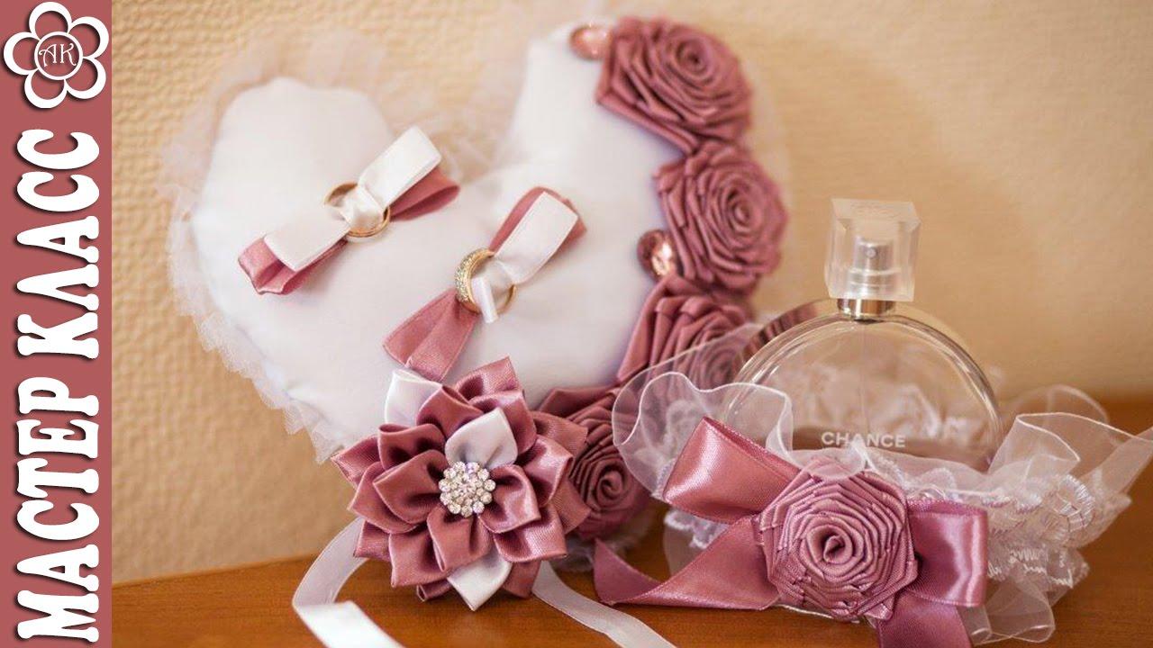 Как сделать подушечку для колец на свадьбу своими руками пошагово фото фото 598