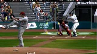 MLB 2K8 vs. MLB 2K9 Xbox 360 (Gameplay Comparison) Phillies vs. Tigers