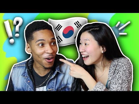 My Girlfriend Teaches Me Basic Korean Phrases| SLICE n RICE 🍕🍚